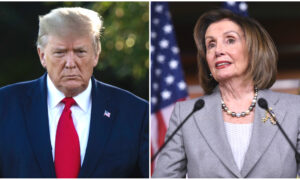 Trump Says Pelosi, Schumer Want to Meet on Pandemic Relief Bill