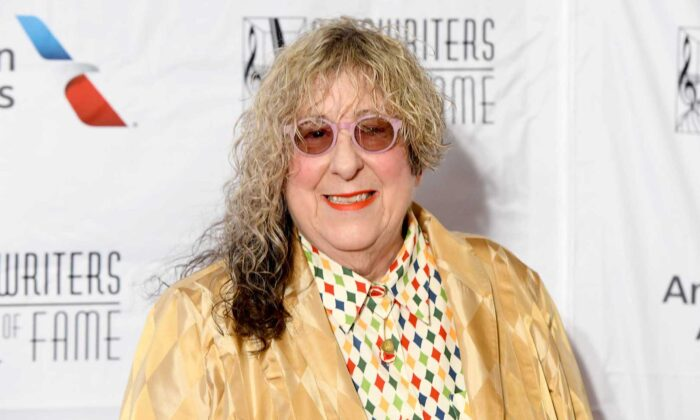 Songwriter and Hall of Fame Inductee Allee Willis attends the Songwriters Hall of Fame 49th Annual Induction and Awards Dinner at New York Marriott Marquis Hotel in New York City, on June 14, 2018. (Noam Galai/Getty Images for Songwriters Hall Of Fame  )