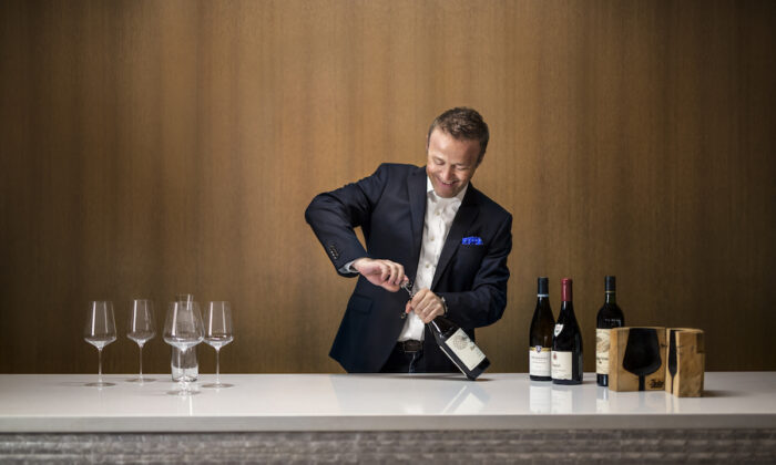 """Aldo Sohm is the master sommelier at Le Bernardin in New York, and author of """"Wine Simple."""" (Francesco Tonelli)"""