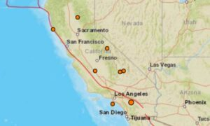 9 Earthquakes Hit California in Less Than 24 Hours Over Christmas Holiday