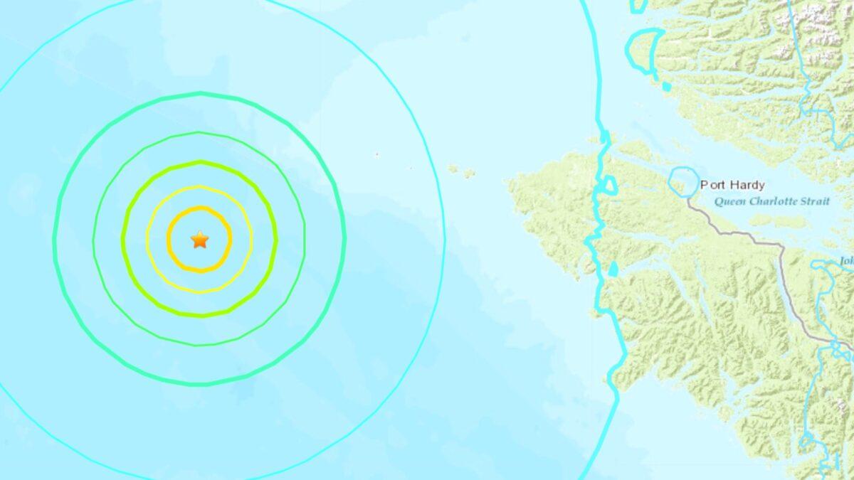 Earthquake Port Hardy