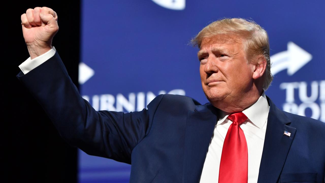 Trump at Turning Point USA