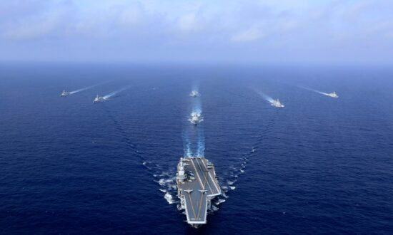 China Sails Carrier Group Through Taiwan Strait as Election Nears