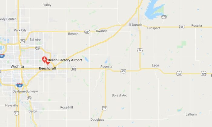 An explosion was reported Friday at a Beechcraft manufacturing plant in Wichita, Kansas, according to reports. (Google Maps)