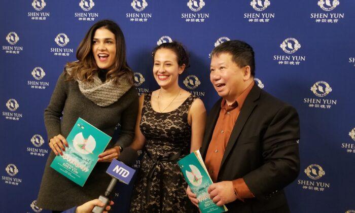 Shen Yun Enchants Violinist and Air Force Major