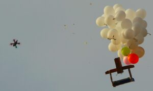 Israel Develops New Laser System to Shoot Down Gaza's Explosive Balloons, Drones
