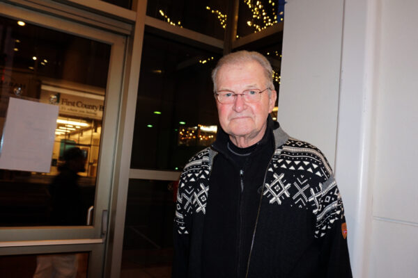Fred Runne, former project manager, attended Shen Yun Performing Arts on Dec. 26, 2019, at the Palace Theater, Stamford, Conn.
