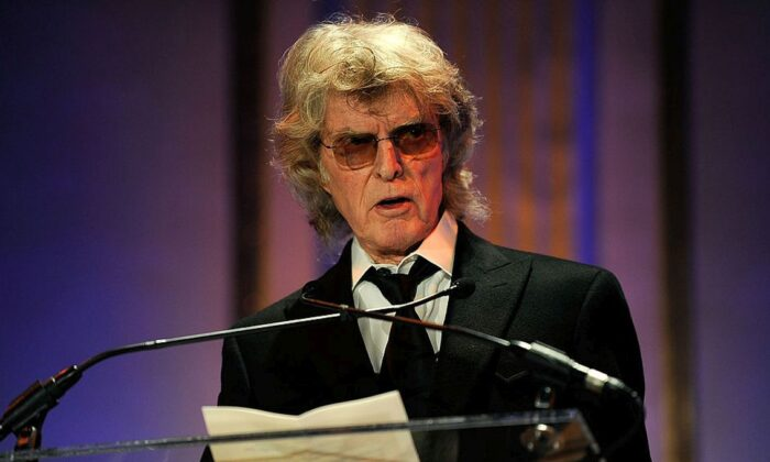 Radio personality Don Imus speaks at the 2010 AFTRA AMEE Awards at The Grand Ballroom at The Plaza Hotel on Feb. 22, 2010 in New York City.  (Larry Busacca/Getty Images for AFTRA)