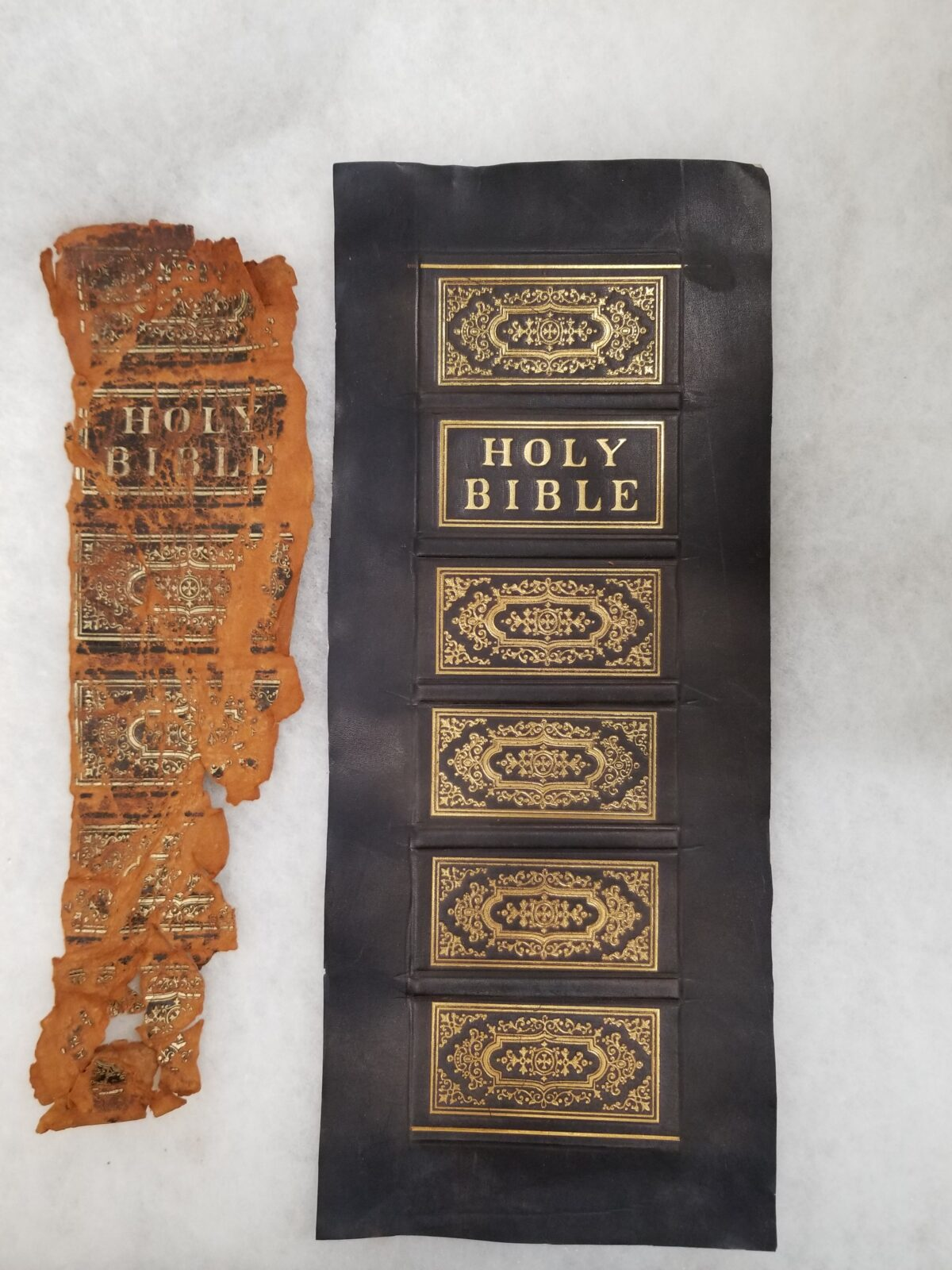 Bible- old and refinished