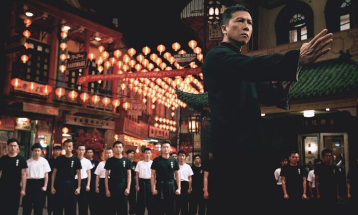 """Donnie Yen stars """"Ip Man 4: The Finale,"""" a vehicle to promote racism against whites. (Pegasus Motion Pictures)"""