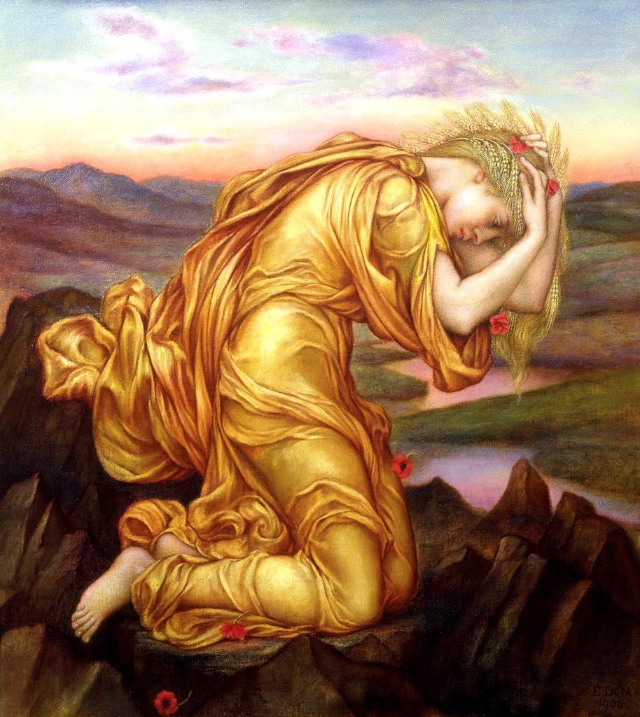 Demeter Mourning Persephone
