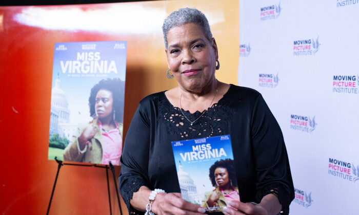 """Virginia Walden Ford at the New York premiere of """"Miss Virginia"""" in October. 2019. (Courtesy of Virginia Walden Ford)"""