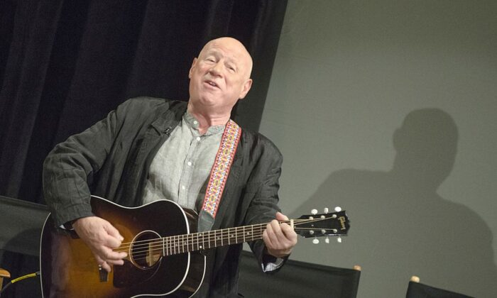 "Neil Innes attends ""50 Years: The Beatles"" panel discussion at Ed Sullivan Theater on February 9, 2014 in New York City. (Photo by Kris Connor/Getty Images)"