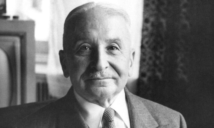 Ludwig von Mises.  (Mises Institute via Wikimedia Commons)
