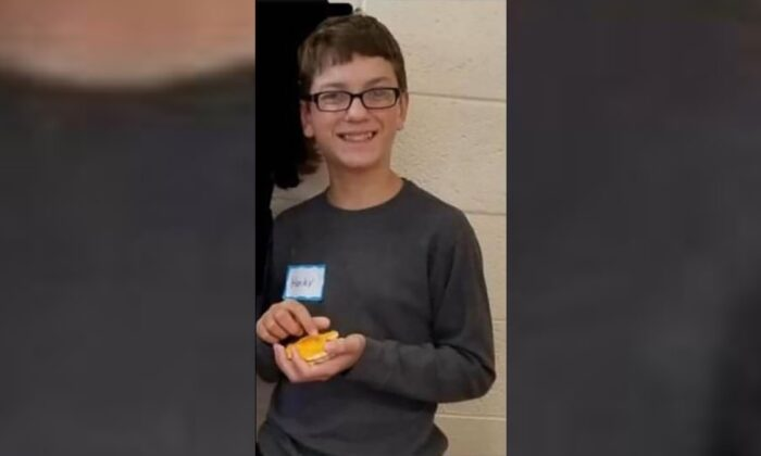 Harley Dilly, a 14-year-old boy who disappeared on his way to school. (Dilly Family/Port Clinton Police Department)