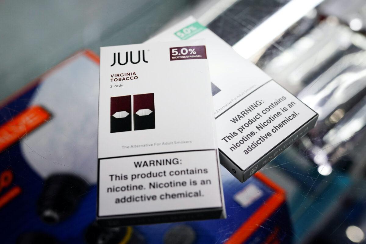 Juul vape cartridges
