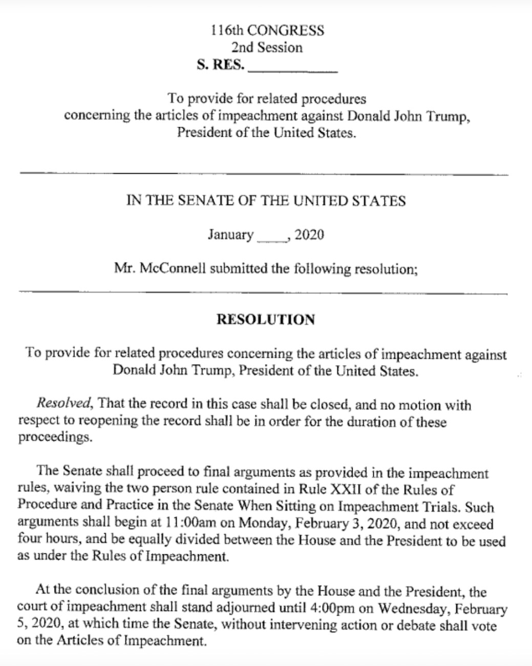 mcconnell resolution