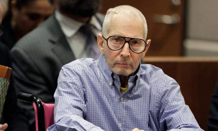 Robert Durst sits in a courtroom in Los Angeles, Calif., on Dec. 21, 2016. (Jae C. Hong, Pool/AP Photo)