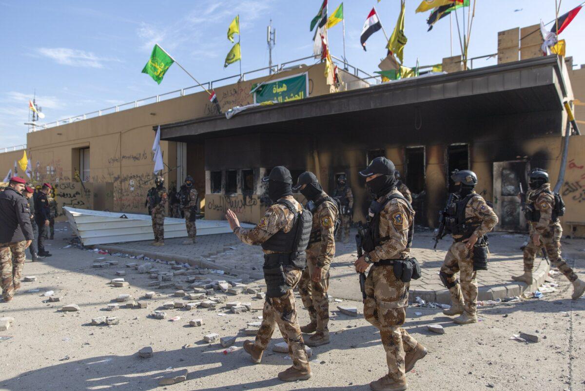 US embassy attack in Iraq 1