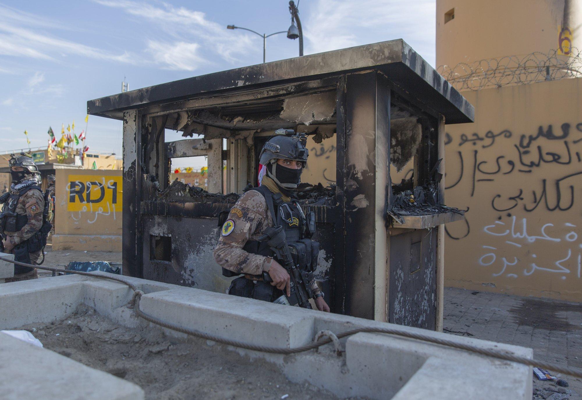 3 Rockets Land Near US Embassy in Baghdad: Iraqi Officials
