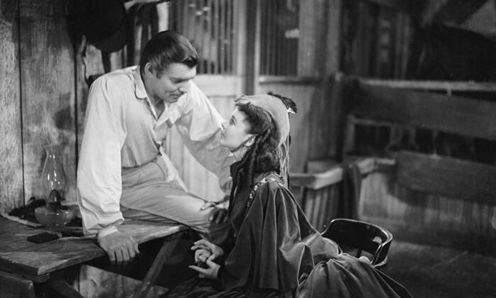 """Clark Gable and Vivien Leigh star in """"Gone With the Wind,"""" one of the most popular movies in American cinema history. It was released in December 1939. (Warner Bros., MGM)"""