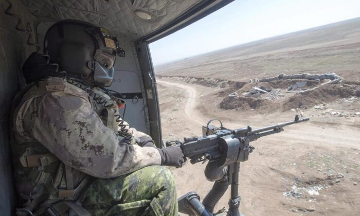 Canada has 850 Canadian Forces members deployed in Iraq, where Iranian general Qassem Soleimani was killed by U.S. forces on the night of Jan. 2. (The Canadian Press)