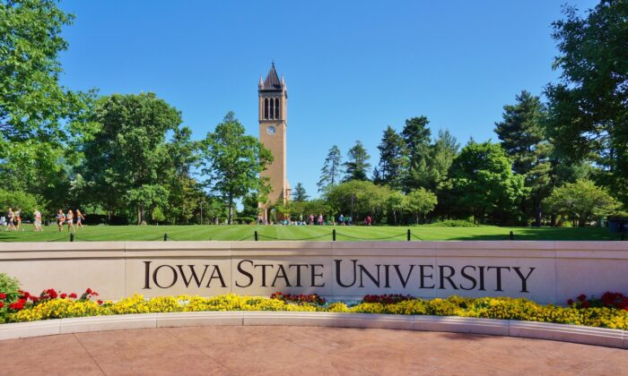 The campus of Iowa State University in Ames, Iowa. (EQRoy/Shutterstock)