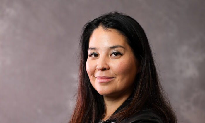 Nicole Neily, president of Speech First, in Washington on Jan. 26, 2020. (Samira Bouaou/The Epoch Times)