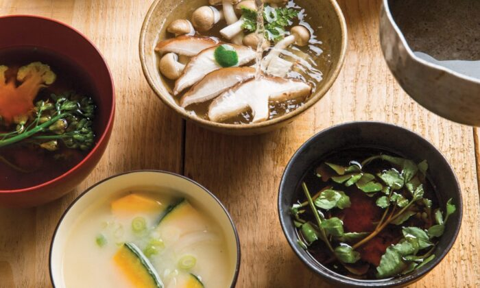 Simple, nourishing soups are an essential part of the Japanese meal. At their base lies dashi, the foundation of Japanese cooking. (Rick Poon)