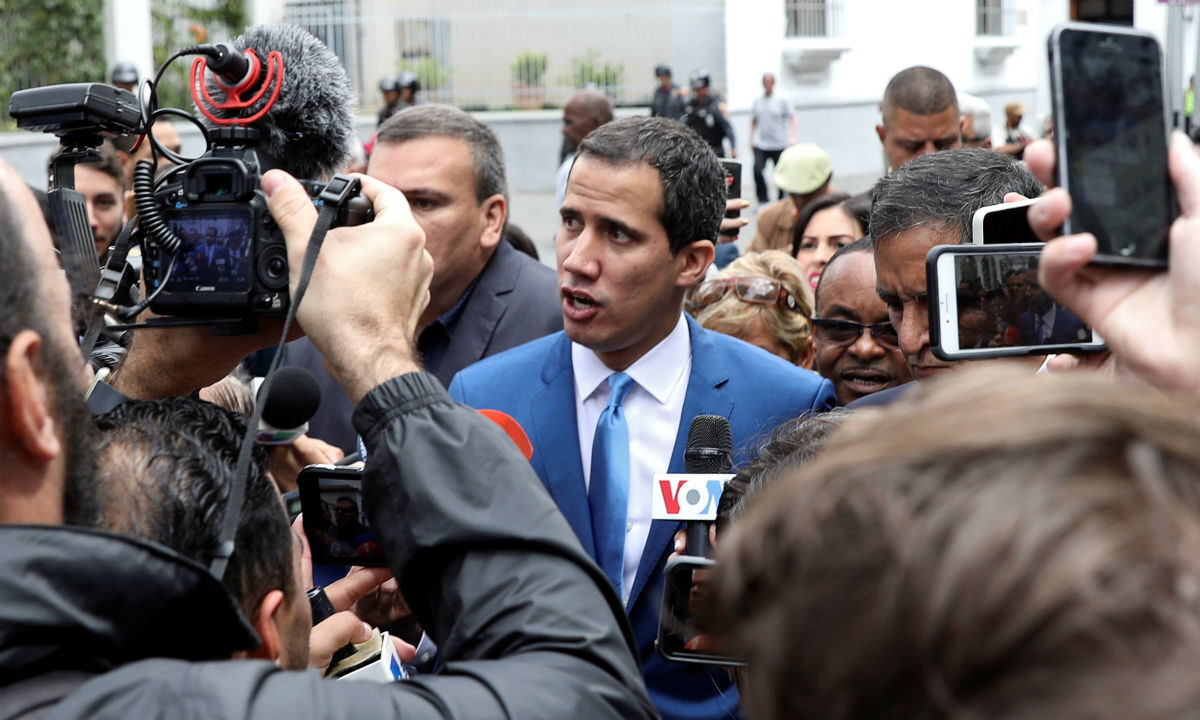 Venezuelan opposition leader Guaido