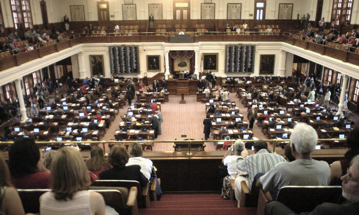 The Texas State Legislature in session in Austin, Texas, on May 16, 2003.  (Matt Archer/Getty Images)
