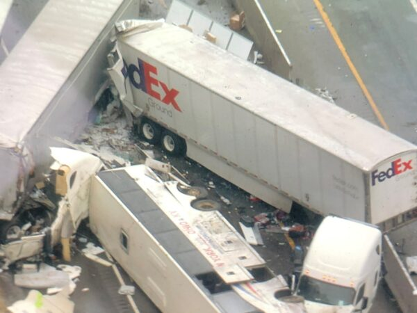 Pennsylvania multi-vehicle crash