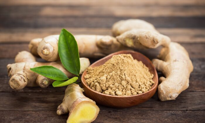 Ginger demonstrated noteworthy healing properties in a study looking at its impact on rheumatoid arthritis. (pilipphoto/Shutterstock)