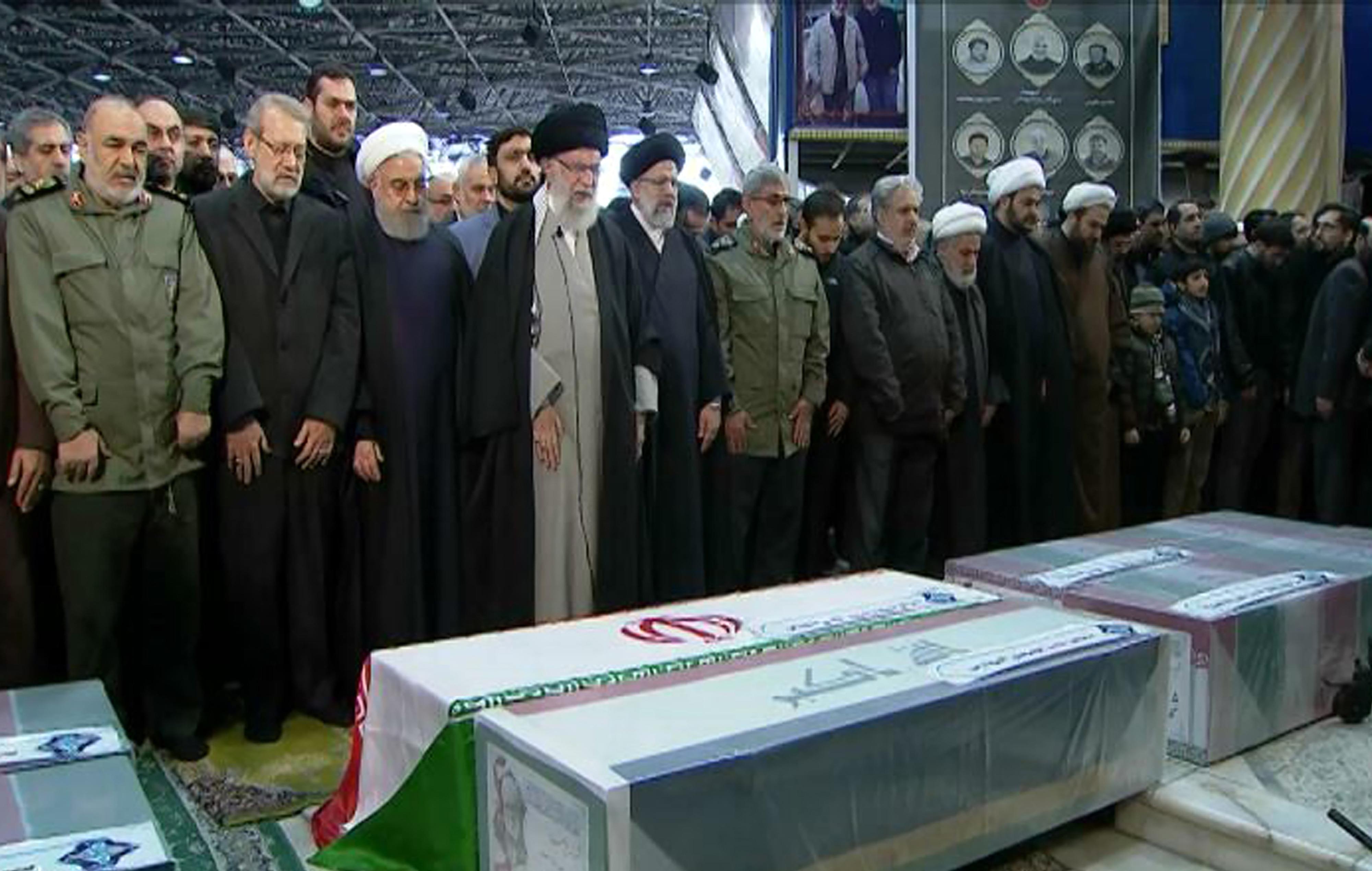 Iran Soleimani Emotional