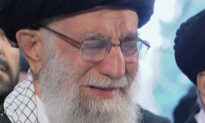 Khamenei Cries During Soleimani Funeral as Thousands Gather in Tehran