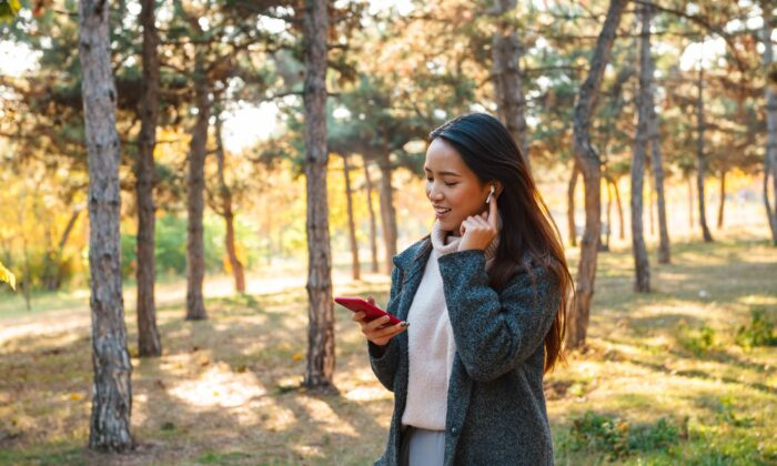Make a habit of getting up and walking whenever you find yourself on the phone. (Dean Drobot/Shutterstock)