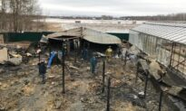 Fire at Greenhouse Farm Kills Eight Migrants in Moscow