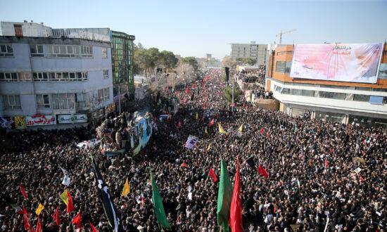 Stampede Kills at Least 40 at Funeral for Iran General Killed in US Airstrike