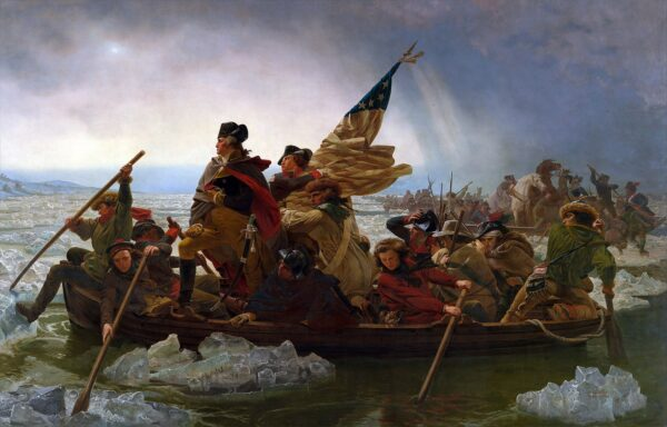 """Washington Crossing the Delaware"" by Emanuel Leutze"
