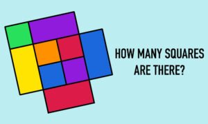 Can You Count All the Squares? This Visual Shapes Puzzle Has Netizens Scratching Their Heads