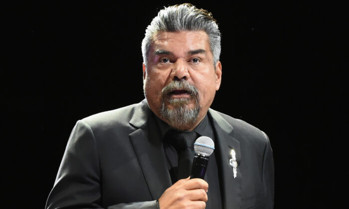 The Comedy Get Down Tour featuring Comedian George Lopez performs during Nashville Comedy Festival at Bridgestone Arena at The Ryman Auditorium in Nashville, Tenn., on April 21, 2018. (Rick Diamond/Getty Images for Outback Concerts)