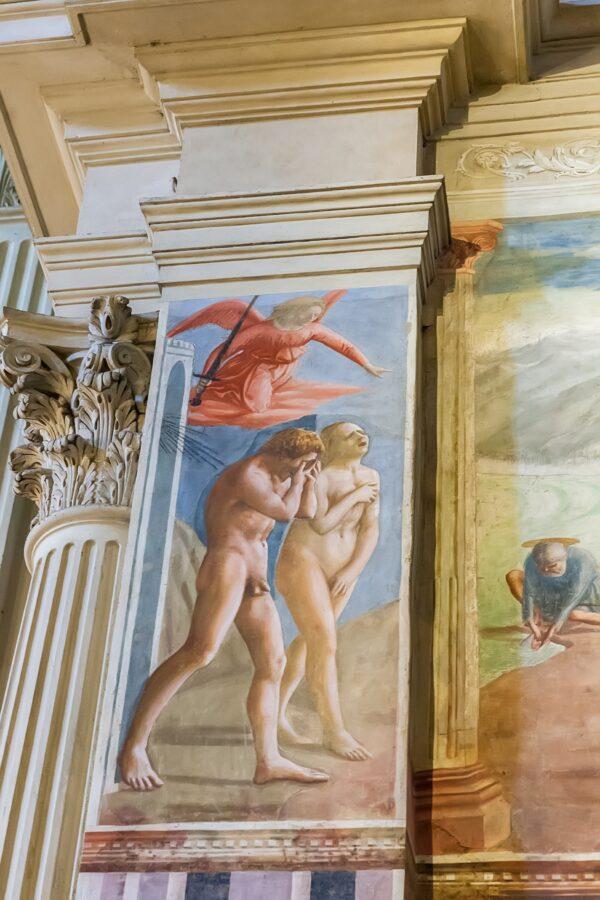 Masaccio Brancacci chapel