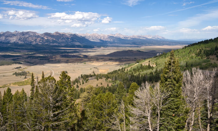 The Sawtooth Valley from Galena Summit, Sawtooth National Recreation Area, Idaho, on Sept. 13, 2010.  Acroterion via Wikimedia Commons