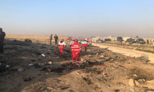 Ukraine Embassy in Iran Drops Reference to Engine Failure as Cause of Crash
