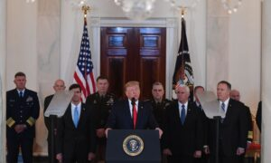 Trump: US to Impose 'Punishing Sanctions' After Iran Missile Attack