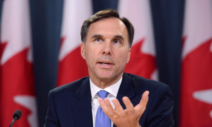 Finance Minister Bill Morneau in a file photo. (The Canadian Press/Sean Kilpatrick)
