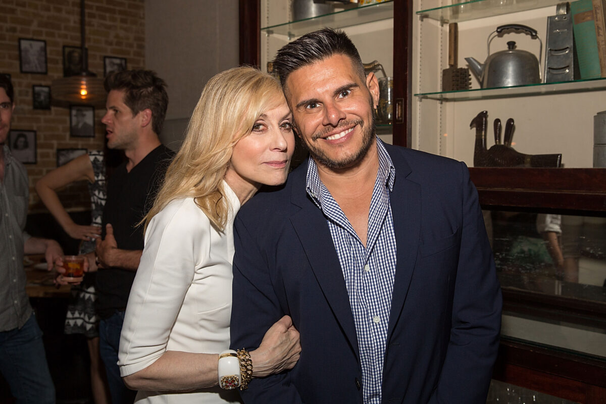 Judith Light and Silvio Horta