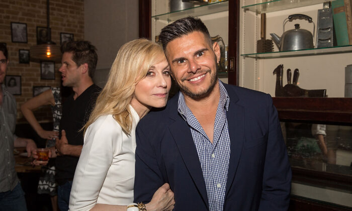 Judith Light and Silvio Horta attend the Ugly Betty Reunion After Party in Austin, Texas on Jun. 11, 2016. (Rick Kern/Getty Images for Entertainment Weekly)