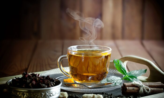 A soothing cup of tea can be just the thing to help you perk up and fight off disease. (Zadorozhnyi Viktor/Shutterstock)