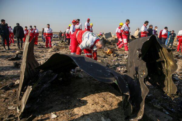 ukraine/iran plane crash